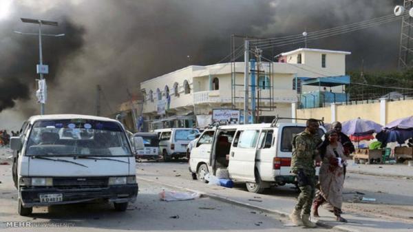 انفجار و تیراندازی در موگادیشو سومالی