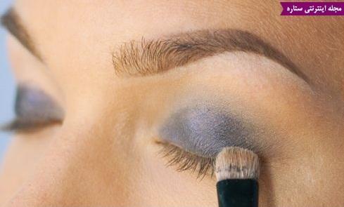 آموزش کامل آرایش چشم (راهنمای تصویری)
