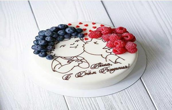 کلکسیونی زیبا از انواع مدل کیک روز عشق