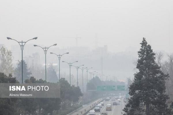 آلودگی هوا و کم بارشی، پدیده جوی غالب کشور تا اواخر بهمن
