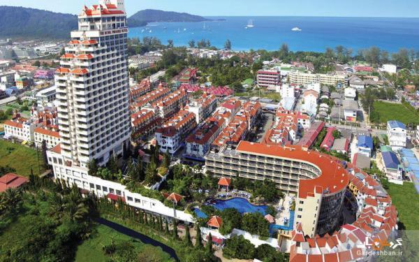 هتل رویال پارادایس(The Royal Paradise Hotel)؛ هتلی 4 ستاره، لوکس و مدرن در ساحل پاتونگ پوکت