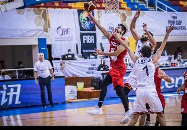 بسکتبال انتخابی کاپ آسیا، ایران 22 و 24 خرداد به مصاف حریفان می رود