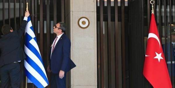 آکار: یونان در جهت نابود کردن روابط با ترکیه است
