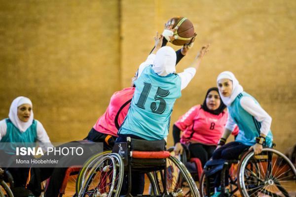 برگزاری اردوی آمادگی تیم ملی بسکتبال با ویلچر بانوان در مشهد
