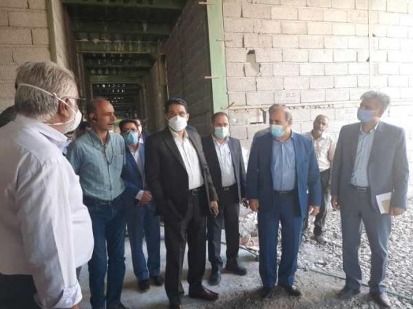 بازدید رئیس سازمان مدیریت و برنامه ریزی استان از ساختمان تازه صداوسیمای کرمان