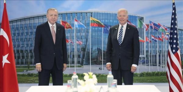 ملاقات اردوغان و بایدن در حاشیه نشست ناتو