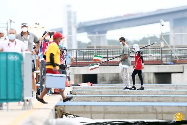 ثبت برترین نتیجه تاریخ ایران در قایقرانی المپیک به وسیله ملایی