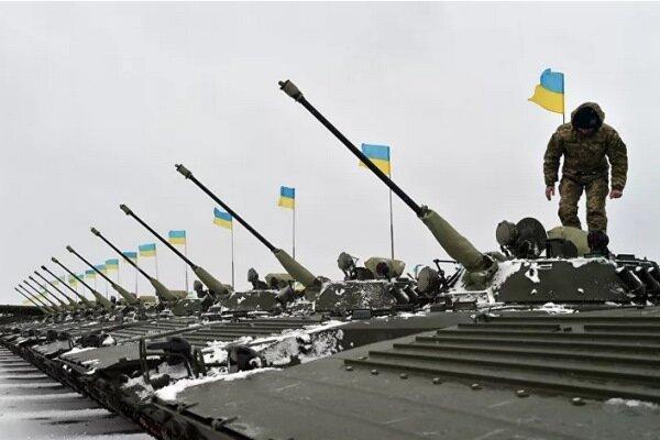 اوکراین با آمریکا و ناتو رزمایش برگزار کرد